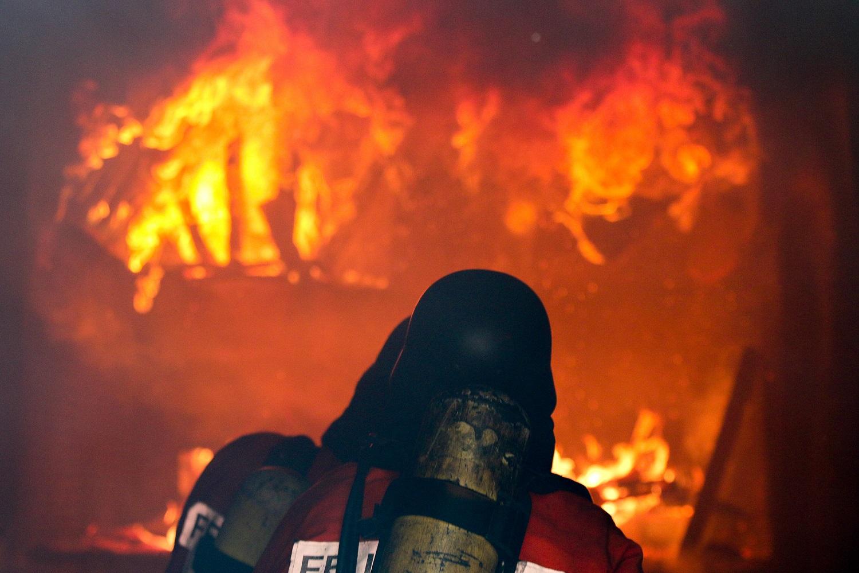 Bild aus dem Brandcontainer